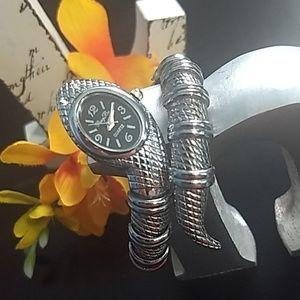 Jewelry - 🐍 Cobra coil watch wrap-around bracelet🐍